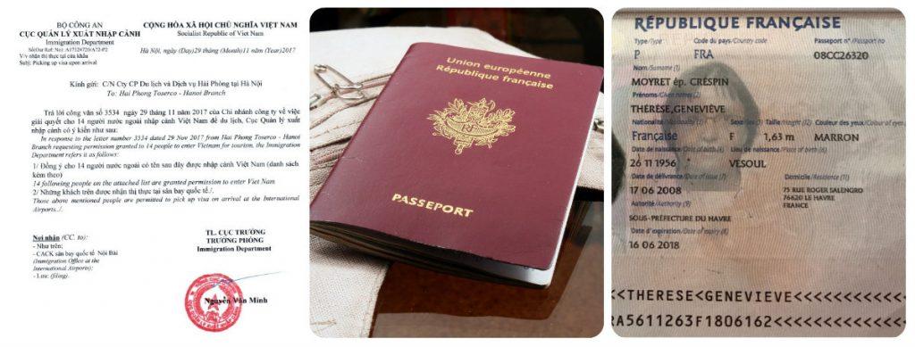 Visa pour le vietnam - demande visa vietnam