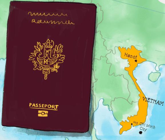 Visa pour le Vietnam - demande visa vietnam - formulaire visa vietnam