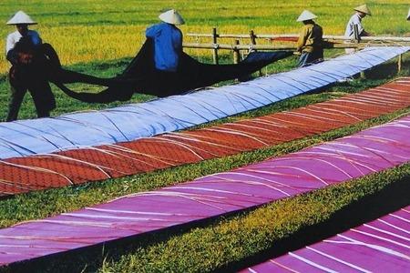 Van Phuc, le village de la soie